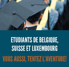 Luxembourgeois ou Belges ? Vous pouvez aussi partir étudier à l'étranger !