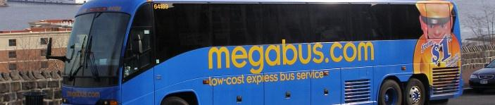 Megabus billet pas cher transport bus Europe